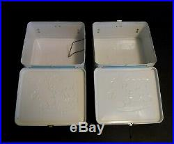 1970 Vintage Disney Walt Disney World Lunchbox Thermos set Mint Unused Wow