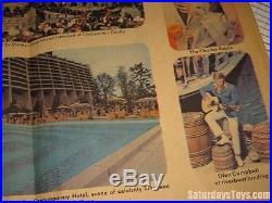 1971 Walt Disney World Pre-Opening Mgmt ARCHIVE Disneyland WED MAPO + Interview