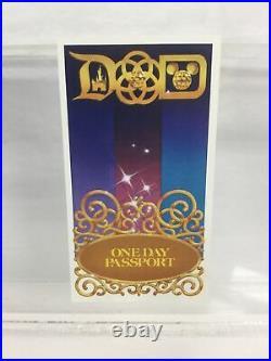 1984 Disneyland UNUSED Ticket Walt Disney World HOPPER Passport Admission tnn93