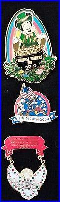 2000 Walt Disney World Millennial Limited Editions Lot Of 49 Pins