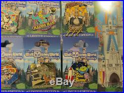 2017 Walt Disney World Piece of History 9 Pin Set Limited Edtion Hard to Find