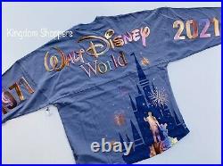 2021 Disney Parks Walt Disney World 50th Magic Kingdom Spirit Jersey Adult XL