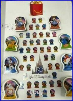 2021 FULL SET of all 50 Toys WALT DISNEY WORLD 50th ANNIVERSARY McDonalds
