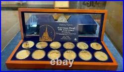 2021 Walt Disney World 50th Anniversary Commemorative 12 Coin Set Mintage 3000