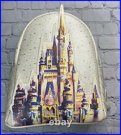 2021 Walt Disney World 50th Celebration Castle Collection Loungefly Backpack