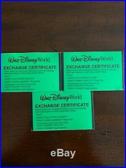 3 Walt Disney World 4 Day Hopper Tickets. Exp. 12/2019