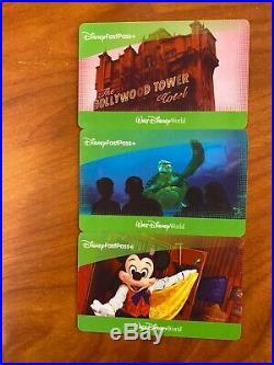 3 Walt Disney World Tickets FastPass 1 Day Adult/Child. Expiration Date 02/2021