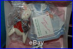 Alice & The White Rabbit 10'' Madame Alexander Walt Disney World Showcase NRFB