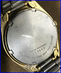 Authentic Numbered SEIKO Quartz Watch Day & Date Walt Disney World Mickey Mouse
