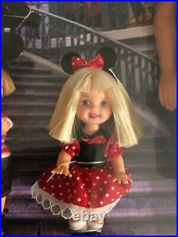 Barbie Walt Disney World Resort Vacation Doll Set Ken, Kelly, Tommy NIB