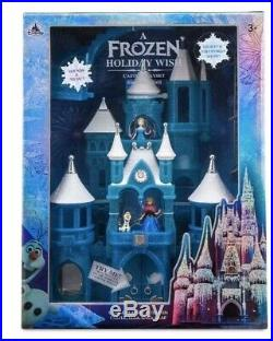 Brand New Disney World Parks Frozen 2 Holiday Wish Castle Playset Elsa Anna