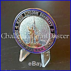 C49 Walt Disney World Security Division Resort Police Challenge Coin