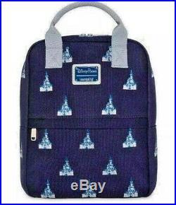 Cinderella Castle Walt Disney World Mini Backpack by Loungefly Disney Parks NWT