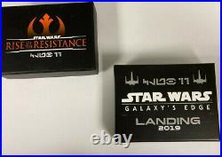 Club 33 Rise Of The Resistance Star Wars Galaxys Edge Pin Set Walt Disney World