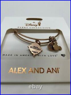 Club 33 Walt Disney World Florida Alex and Ani Bracelet Brand New