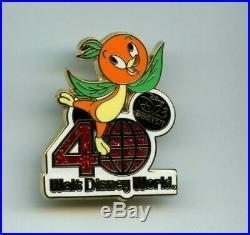 D23 Expo Walt Disney World 40th Anniversary Mystery Orange Bird CHASER Pin