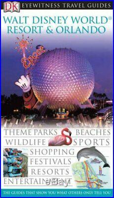 DK Eyewitness Travel Guide Walt Disney World Resort & Orlando Hardback Book The