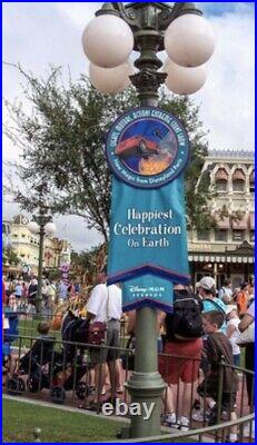 Disney Authentic Park Sign RARE Disneyana Disneyland WDW Mickey Mouse