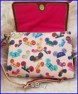 Disney Dooney & Bourke I Am Princess Foldover CROSSBODY Walt Disney World NWT