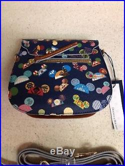 Disney Dooney & Bourke Walt Disney World Attractions Ear Hat Crossbody Bag New