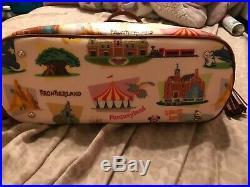 Disney Dooney & Bourke Walt Disney World Retro Tassel Tote-NWT