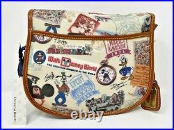 Disney Dooney & and Bourke Walt Disney World 40th Anniversary Saddle Messenger