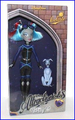 Disney Parks Attractionistas 12 Dolls (Set of 6) Walt Disney World / Disneyland
