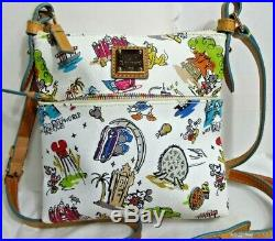Disney Parks Dooney & Bourke Walt Disney World Disneyana Crossbody Handbag