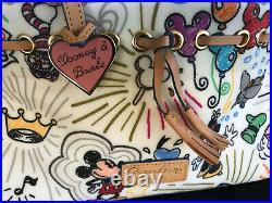 Disney Parks Dooney and Bourke Disneyland Walt Disney World Tote Bag Purse