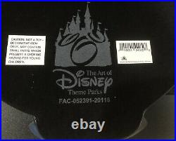 Disney Parks Haunted Mansion Classic Gate Sign Wall Plaque 45th Anniversary NIB