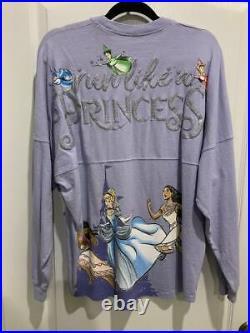 Disney Parks RunDisney Princess Half Marathon Spirit Jersey 2020 XL Run Purple