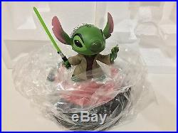 Disney Parks Star Wars Weekends Stitch As Jedi Master Yoda Medium Figure New