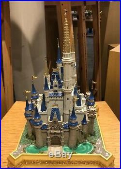 Disney Parks Walt Disney World Large Cinderella Castle Sculpture Medium Figure