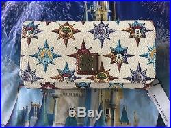 Disney Parks Walt Disney World Passport Crossbody Wallet by Dooney & Bourke NEW