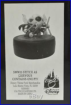Disney Parks Walt Disney World Star Wars Weekends 2015 Stitch as Grievous Figure
