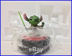 Disney Parks Walt Disney World Star Wars Weekends Stitch Jedi Master Yoda Figure