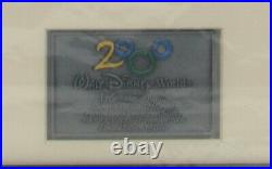 Disney Photomosaics by Silvers Epcot 2000 Mexico Pavilion Little Mermaid Pin Set