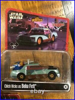 Disney Pixar Cars STAR WARS Disney Parks EXCLUSIVES set Diecast 155