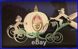 Disney WDI Cinderella Carriage Jumbo Pin Limited Edition 150