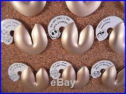 Disney Walt Disney World Disneyland Fortune Cookie Mystery Complete 12 Pin Set