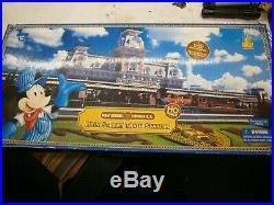 Disney Walt Disney World Main Street Railroad Train Station HO Scale RARE. NIB