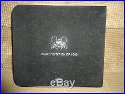 Disney Wdw Retro Walt Disney World Resort Collection Super Jumbo Pin In Box Le