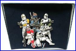 Disney World 2008 Star Wars Weekends Jango Fett Clone Trooper Pin LE 500 Rare