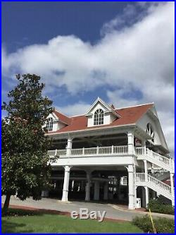 Disney World Grand Floridian Orange Roof Shingle Tile Prop Cast Member RARE