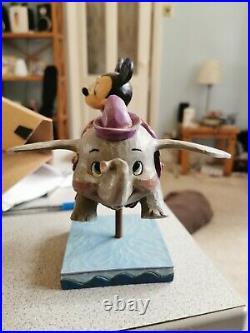Disney traditions PARK EXCLUSIVE flying dumbo ride Jim Shore Walt disney world