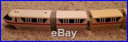 Disneyland Disney World Monorail Playset RED Line + extras 200+ track parts lot
