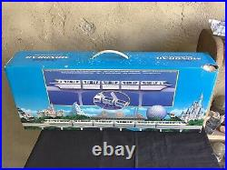 Disneyland Monorail Playset BRAND NEW (NOS) Rare SilverColor with 8 Characters
