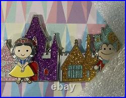 Disneyland Park Its a Small World Fantasyland 7 Pin Framed Set LE 250 withCOA
