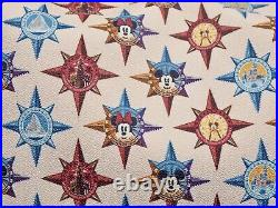 Dooney & Bourke Compass Passport Satchel Tote Disneyland Walt Disney World NEW