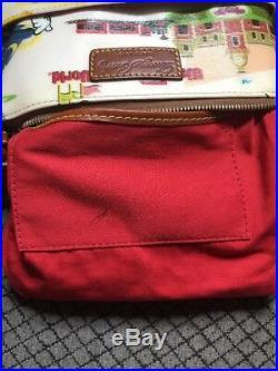 Dooney & Bourke Retro Walt Disney World Letter Carrier Bag